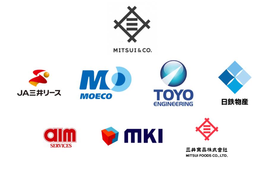 三井物産グループのロゴ