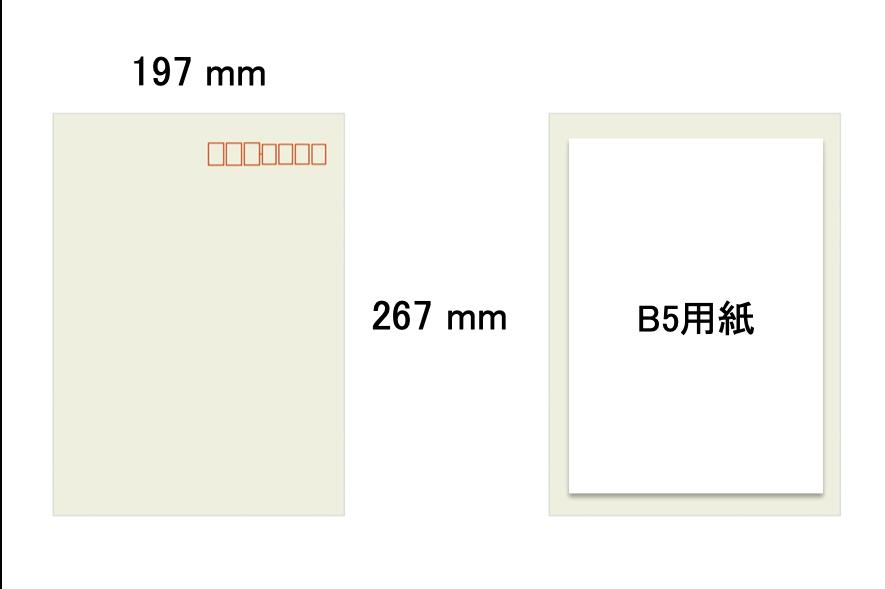 角形4号の封筒サイズ